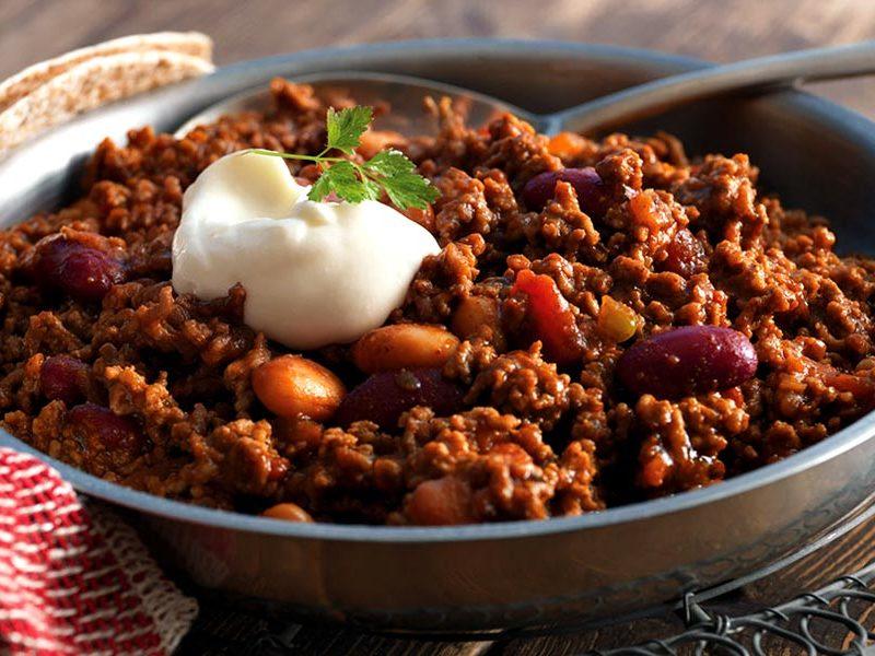 Recipe Chili Con Carne To The Companion Frije